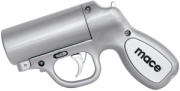 Mace Pepper Gun-Silver