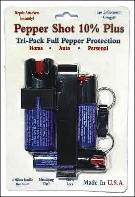 Tri-Pack Pepper Shot